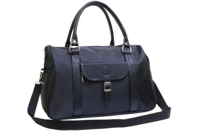 1203к сумка дорожная черная
