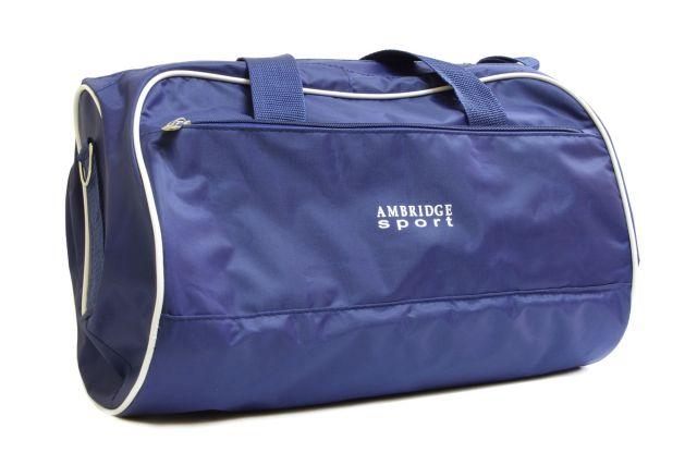 0748к сумка спортивно-дорожная синяя