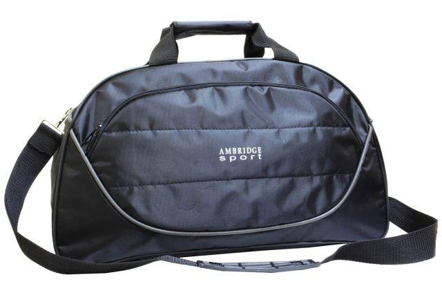 1116к сумка спортивно-дорожная черная