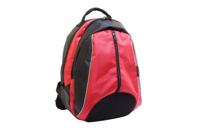 0589к рюкзак черный/красный
