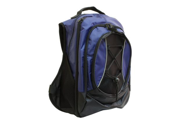 0816к рюкзак черно-синий