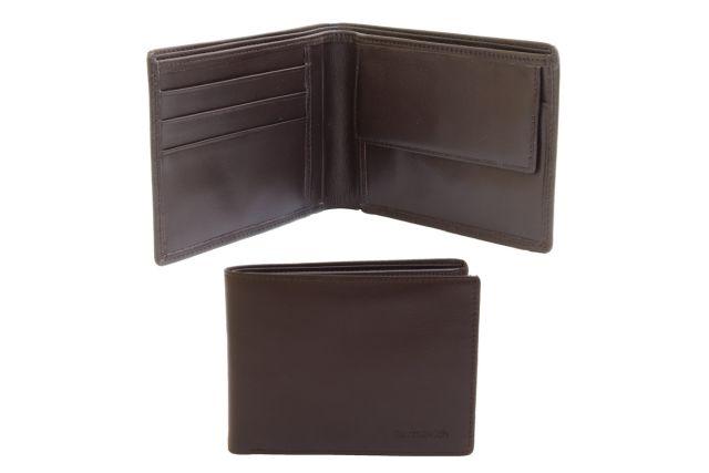 0616н портмоне коричневое