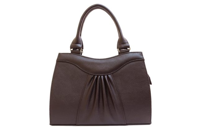 1135 сумка женская коричневая