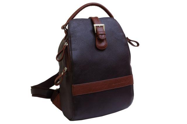 1215 рюкзак коричневый