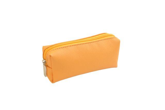 0856 косметичка желтая