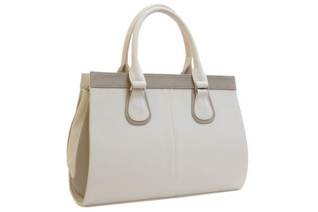 1214 сумка женская бежевая