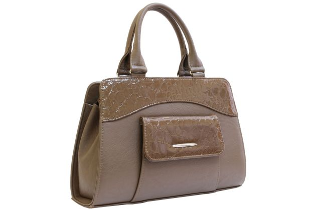 1221 сумка женская темно-бежевая