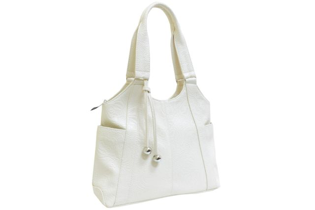 1223 сумка женская бежевая