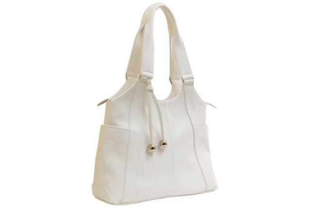 1223 сумка женская белая