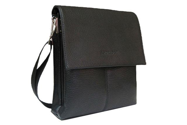 1312 сумка мужская молодежная черная