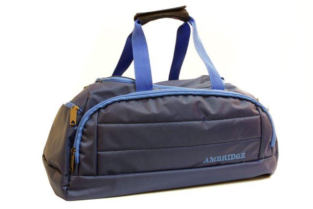 1122к сумка спортивно-дорожная синяя