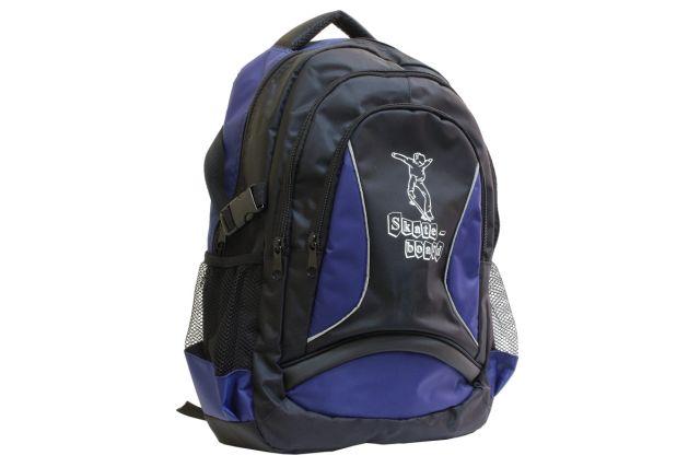 1208к рюкзак черный/синий