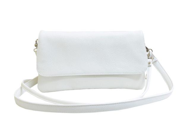 0954 сумка женская белая