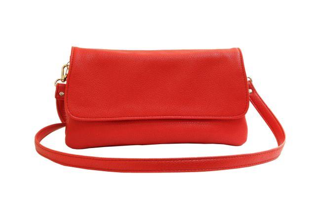 0954 сумка женская красная
