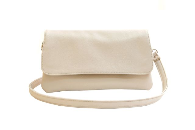 0954 сумка женская бежевая