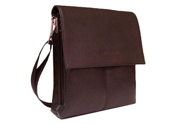 1312 сумка мужская молодежная коричневая