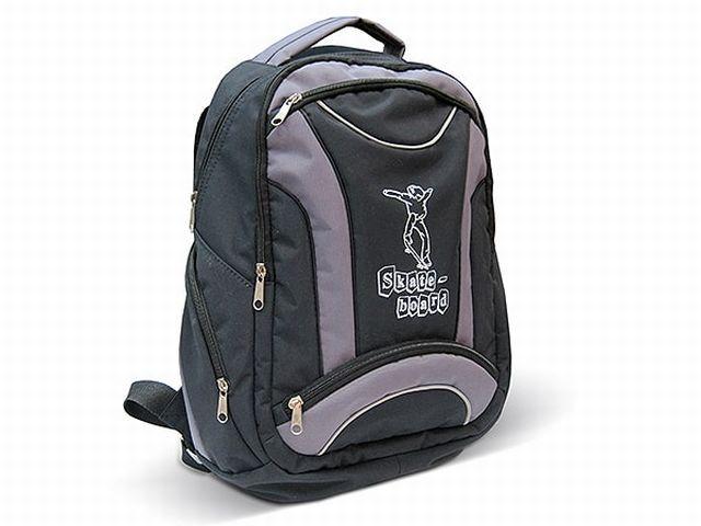 1314к рюкзак черный/серый