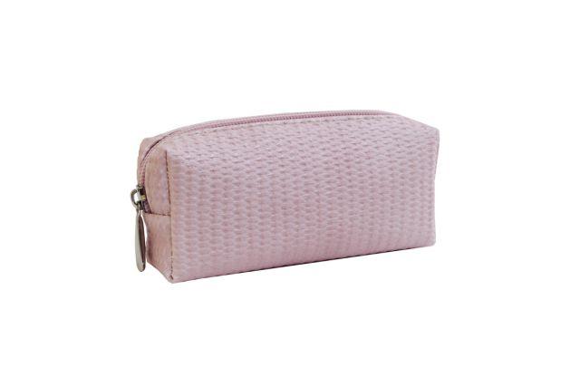 0856 косметичка розовая