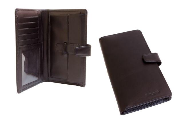 1210мн портмоне коричневое