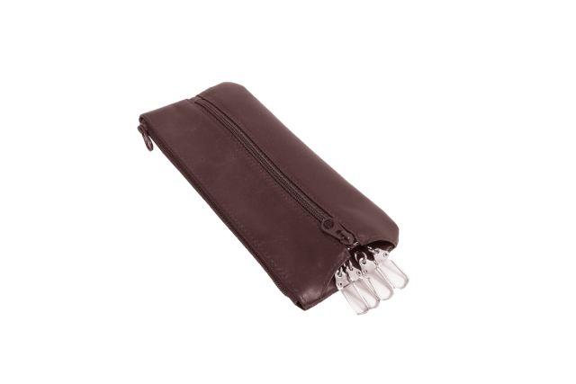 0521н футляр для ключей коричневый