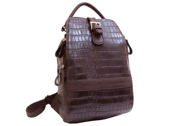 1215 рюкзак коричневый крок