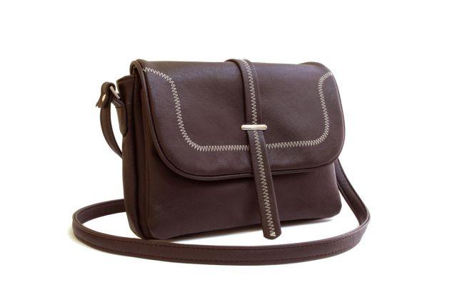 1331 сумка женская коричневая