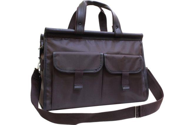 1401к  сумка дорожная коричневая