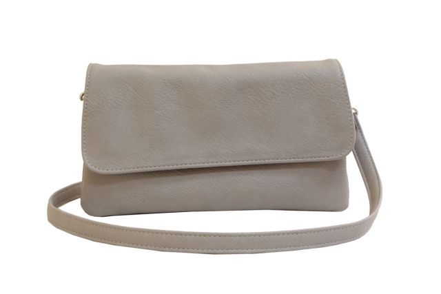 0954 сумка женская темно-бежевая