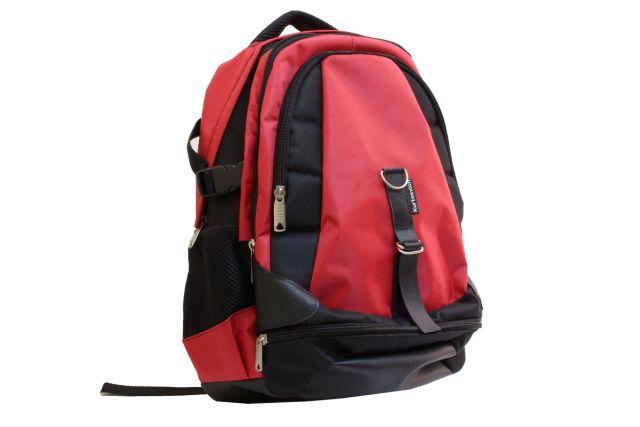 1211к рюкзак черный/красный