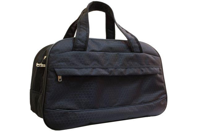 1417к сумка дорожная черная