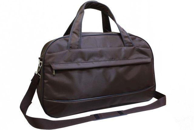 1417к сумка дорожная коричневая