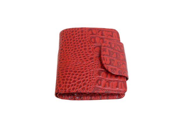 0834н портмоне крок красный