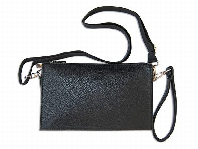 1414 сумка мужская молодежная черная