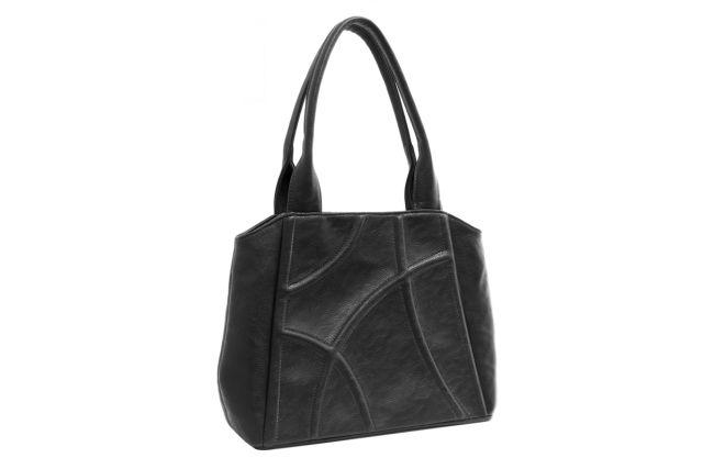 1424 сумка  женская черная