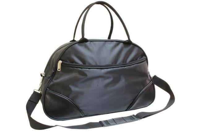 1433к сумка спортивно-дорожная черная