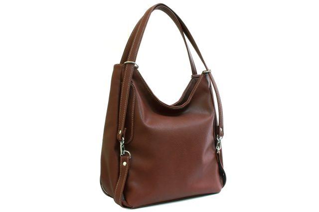 1443 сумка женская коричневая