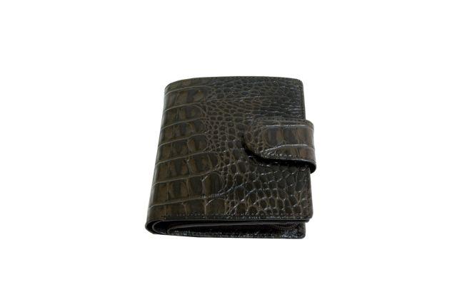 0947н портмоне женское крок коричневый
