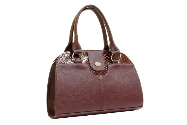 1436 сумка женская бордовая/бордовый лак
