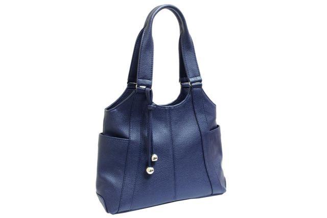 1223 сумка женская синяя