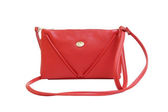 1315 сумка женская красная