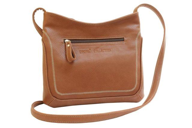 1506 сумка женская рыжая