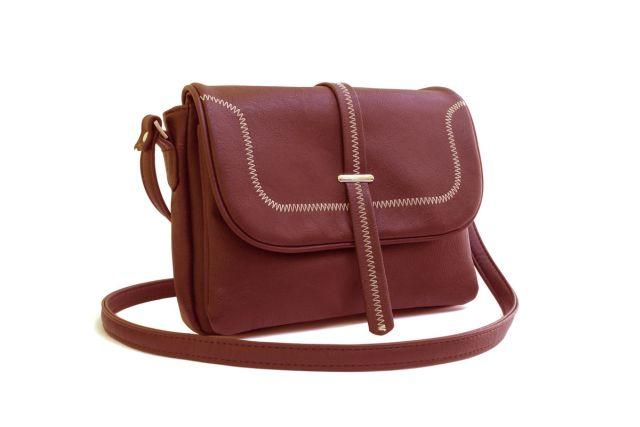 1331 сумка женская рыжая