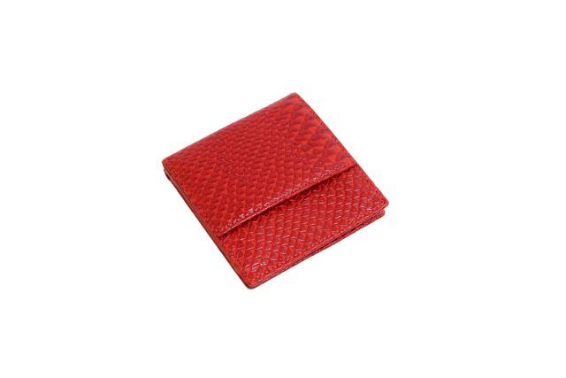 0265н портмоне крок красный