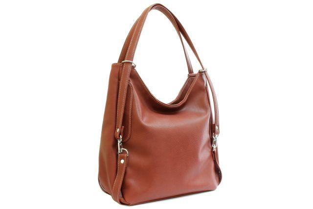 1443 сумка женская рыжая