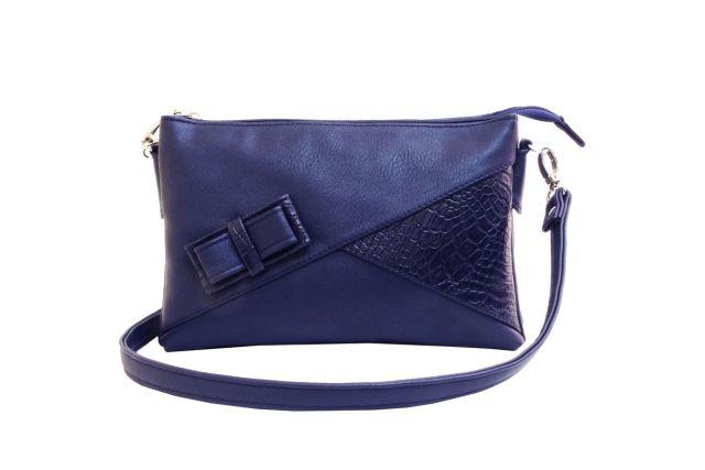 1404 сумка женская синяя