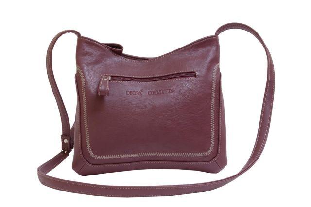 1506 сумка женская бордовая