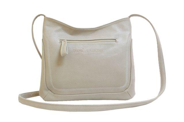 1506 сумка женская темно-бежевая
