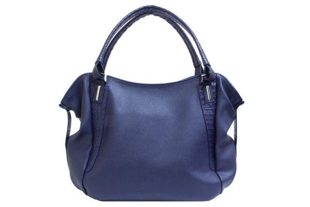 1512 сумка женская синяя