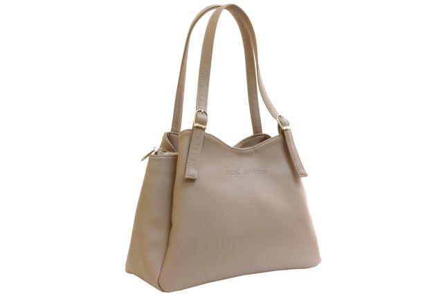 1515 сумка женская бежевая