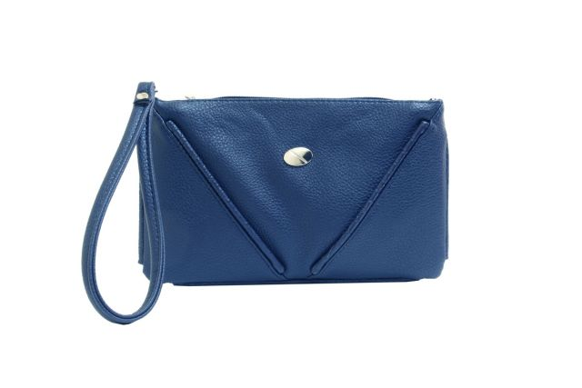 1315 сумка женская синяя